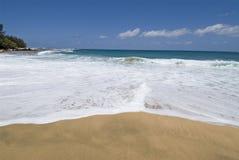 Пляж в рае стоковое изображение