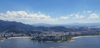 Пляж в Рио-де-Жанейро, Бразилии стоковая фотография rf
