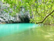 Пляж в Филиппиныы. Стоковая Фотография RF