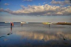 Пляж в Banyuwangi стоковые фото
