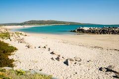 Пляж в Cape Town Стоковые Фотографии RF