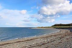Пляж в Galloway, Шотландии Стоковые Изображения RF