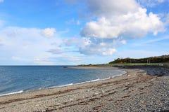 Пляж в Galloway, Шотландии Стоковая Фотография