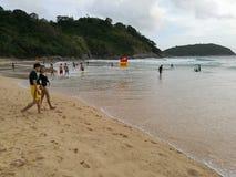 Пляж в Rawai стоковое фото rf