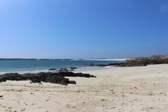 Пляж в Roundstone, co galway Ирландия Стоковые Фотографии RF