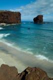 пляж Гавайские островы Стоковая Фотография