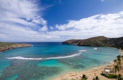 пляж Гавайские островы Стоковое фото RF