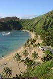пляж Гавайские островы стоковое изображение