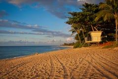 пляж Гавайские островы oahu Стоковая Фотография