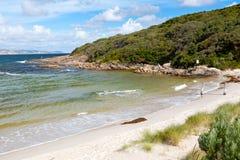 Пляж Дания океана Стоковое Изображение