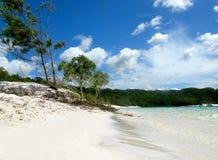 пляж дезертировал Стоковая Фотография RF