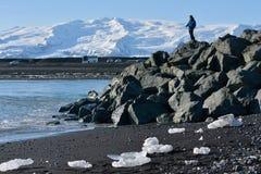Пляж диаманта стоковая фотография rf