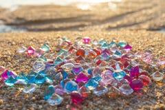 Пляж диамантов стоковые фото