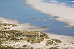 пляж длиной Стоковое Изображение RF
