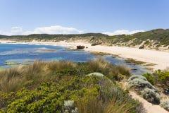 пляж длиной Стоковое фото RF