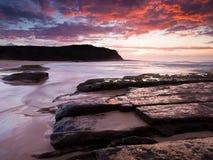 пляж довольно Стоковая Фотография RF