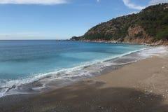 Пляж долины Kabak, Fethiye стоковое изображение rf
