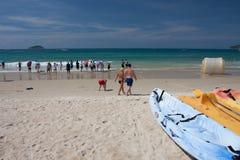 Пляж залива Yalong Стоковые Фото