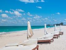 Пляж зимы Багамских островов Стоковое Фото