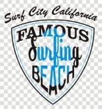 пляж известный Стоковые Изображения RF