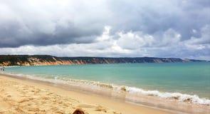 Пляж и дюны стоковое фото rf