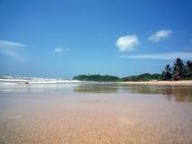 Пляж и море стоковое изображение