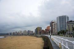 Пляж и небо 4 стоковое изображение rf
