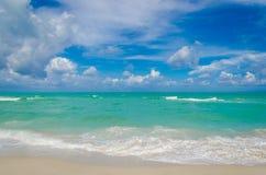 Пляж и океан Майами тропические Стоковое Фото