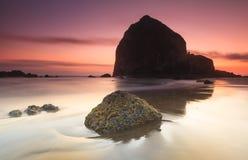 Пляж канона Стоковая Фотография RF