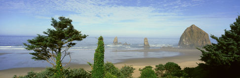 Пляж карамболя Стоковое Фото