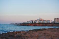 Пляж Косты Orihuela стоковые фотографии rf