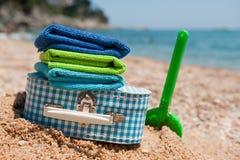 пляж, котор нужно переместить Стоковая Фотография RF