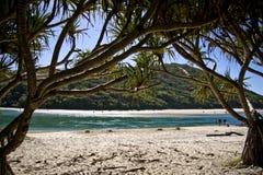 пляж красивейший Стоковые Фото