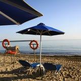 пляж Крит Стоковое Изображение RF