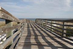 пляж к дорожке стоковая фотография rf