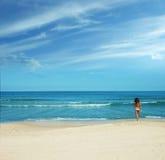 Пляж лета Стоковые Фотографии RF