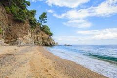 Пляж лета Seascape Стоковые Изображения RF