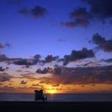 Пляж Майами - Флорида - США Стоковые Фотографии RF