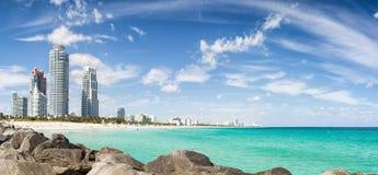Пляж Майами южный, Флорида, США стоковое изображение