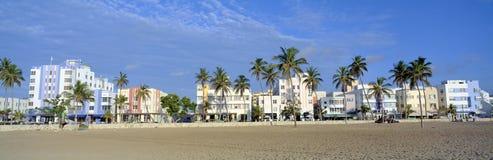 Пляж Майами стоковые изображения rf