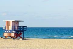 Пляж Майами Стоковые Изображения