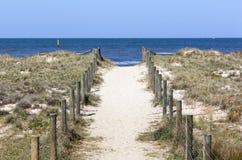 Пляж Мельбурна порта Стоковое фото RF