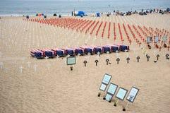 пляж мемориальный monica santa Стоковые Фото