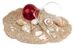 пляж меньшяя заплата Стоковое Изображение