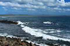 Пляж 9 миль, Forster стоковое фото rf