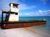 пляж Мозамбик Стоковое Изображение RF