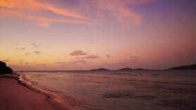 Пляж моря, Сейшельские островы видеоматериал