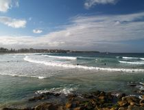пляж мужественный Сидней Австралии Стоковое Изображение RF