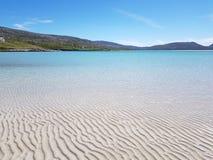 Пляж на острове Херрис, Шотландии стоковое изображение rf