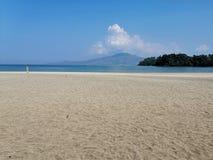 Пляж на Филиппинах стоковое изображение